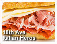 Vicini's Pizza menu item: Triborough Hero